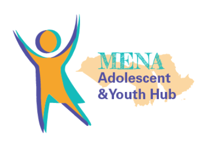 Logo MENA Adolescent and Youth Hub